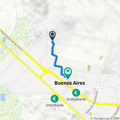 De Urb los Alamos, Nuevo Chimbote a Plaza Mayor, Chimbote