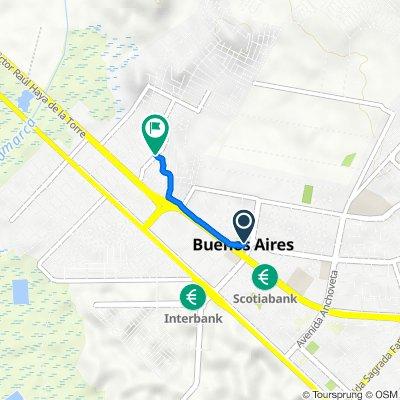 De plaza Mayor, Chimbote a campo de 3 de octubre, Chimbote