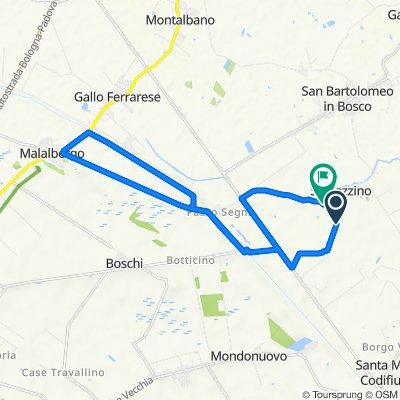 Da Via del Taglione 5, Ferrara a Via del Taglione 3C, Spinazzino
