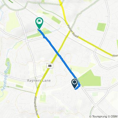 14 Welbeck Road, Harrow to 29 Lincoln Road, Harrow