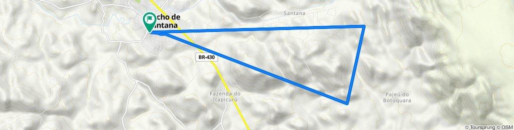 De Rua Otávio Mangabeira 125 a Rua Otávio Mangabeira 125