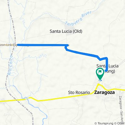 Unnamed Road, Zaragoza to Unnamed Road, Zaragoza