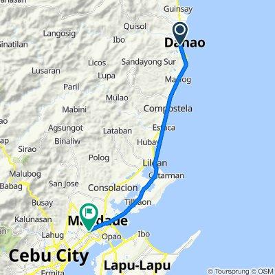 Juan Luna Street, Danao City to A.S. Fortuna, Mandaue City