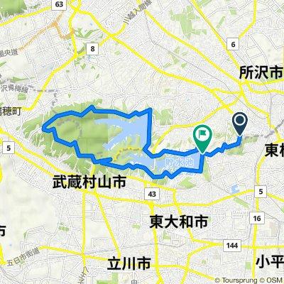 Matsugaoka Chuo-dori Avenue, Tokorozawa to Tamako, Higashiyamato