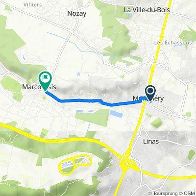 De 3 Rue du Maillé, Montlhéry à 21bis Rue Alfred Dubois, Marcoussis