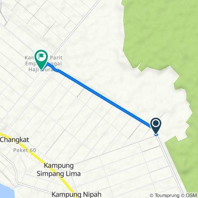 Jalan Terusan Utama, Sungai Besar to Jalan Peket 20, Sungai Besar
