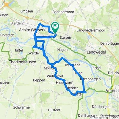 Route von Flatacker 6, Achim