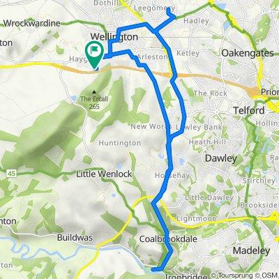 30 Hampton Hill, Telford to 30 Hampton Hill, Telford