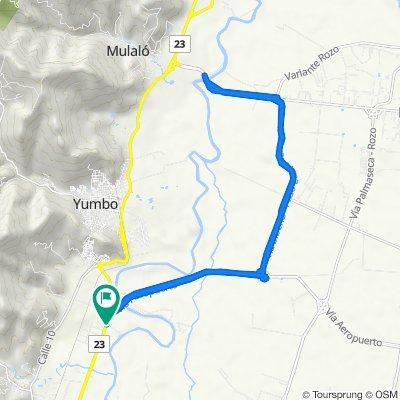 De Calle 15 21A-1–21A-99, Yumbo a Calle 15 21A-1–21A-99, Yumbo
