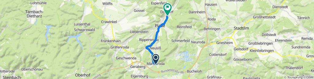 L2699 13, Martinroda nach Dosdorf 63, Arnstadt