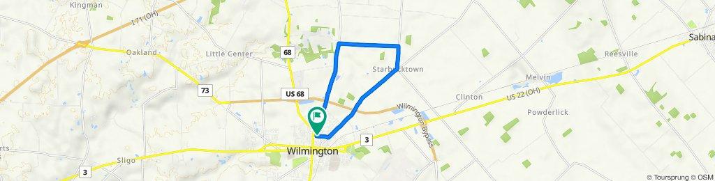 448 N Walnut St, Wilmington to 448 N Walnut St, Wilmington