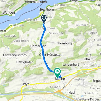 Eichhölzliweg, Steckborn nach Höfli 32, Müllheim Dorf