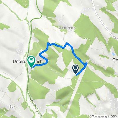 Route nach Unterdombach 5, Unterdombach