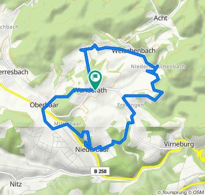 7-Dörfer-Weg in Baar-Wanderath