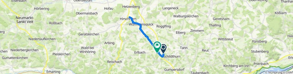 Alfred-Schlagmann-Straße 27B, Zeilarn nach Bruckhäusl 50, Erlbach