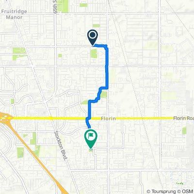 Wilkinson Street 6091, Sacramento to Palmer House Drive 7420, Sacramento