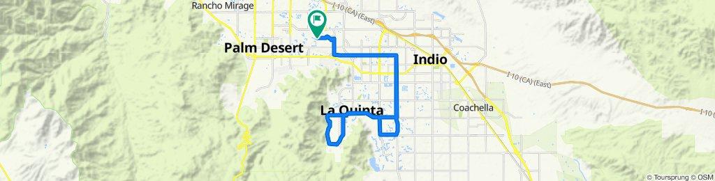 76540 New York Ave, Palm Desert to 42957–42999 Virginia Ave, Palm Desert