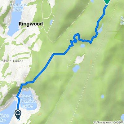 Ringwood state park via ice pond rd