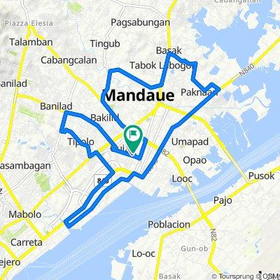 A.O. Del Rosario Avenue, Mandaue City to Suson, Mandaue City