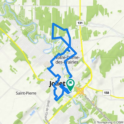 De 185 Rue Dugas, Joliette à 185 Rue Dugas, Joliette