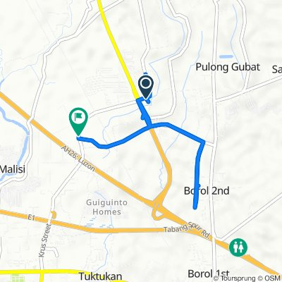 Plaridel Bypass Road 498, Guiguinto to Pan-Philippine Highway, Guiguinto