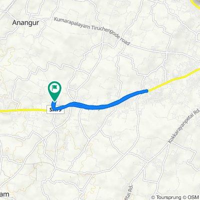 214 I-3, KSR Kalvi Nagar to 214 I-3, KSR Kalvi Nagar