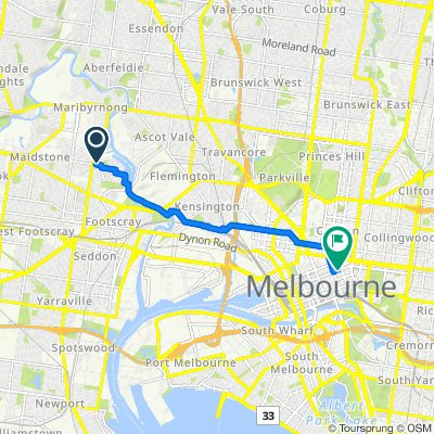 La Scala Avenue 130, Maribyrnong to Lonsdale Street 130, Melbourne