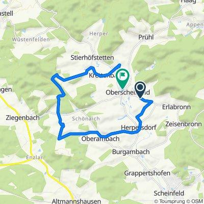 NEA25, Oberscheinfeld nach Hohlgasse 5, Oberscheinfeld