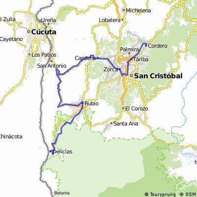 2011.01.03 - Vuelta al Tachira - Stage 08
