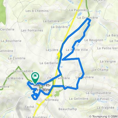 De 14 Village de la Verronnerie, Saint-Marc-la-Lande à 11–17 Village de la Verronnerie, Saint-Marc-la-Lande