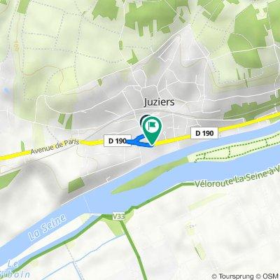 De 7 Rue de la République, Juziers à 137 Avenue de Paris, Juziers