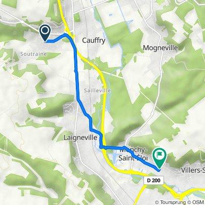 8 Chemin de la Petite Vallée, Cauffry do 4 Impasse Lucienne Fabre Sébart, Monchy-Saint-Eloi