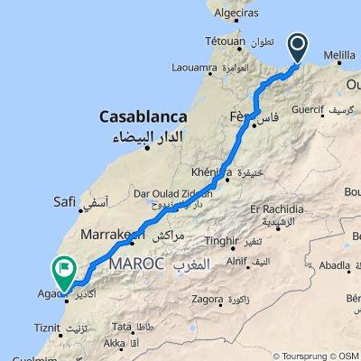 Quer durch Marokko