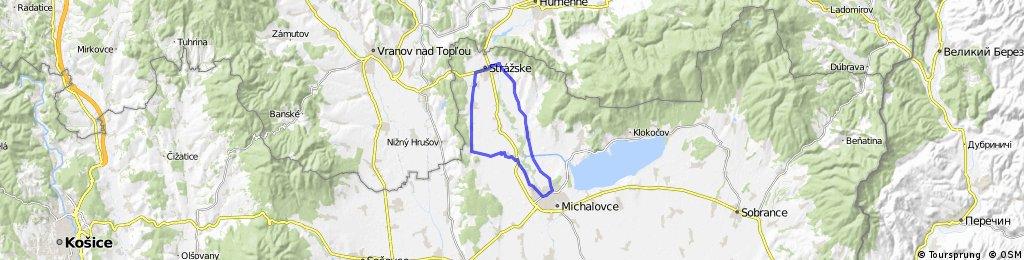 Michalovce - Strážske