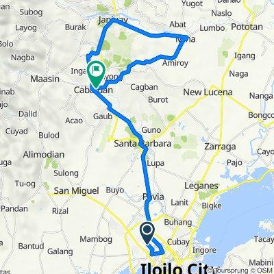 Route to Iloilo-Capiz New Route, Cabatuan