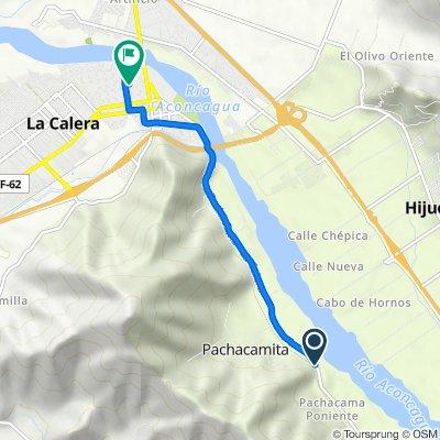 Ocoa - Pachacama - La Calera, La Calera to Diego Lillo 599, Calera