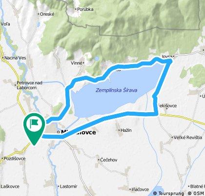 Michalovce - okolo Šíravy
