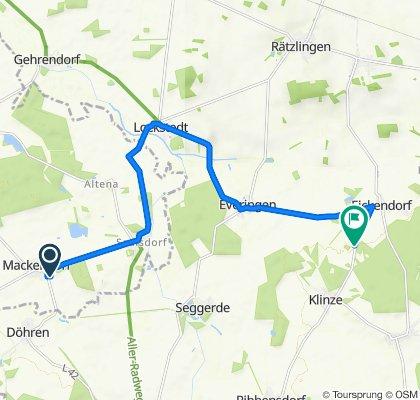 Siedlung 4, Bahrdorf nach K1133, Oebisfelde-Weferlingen