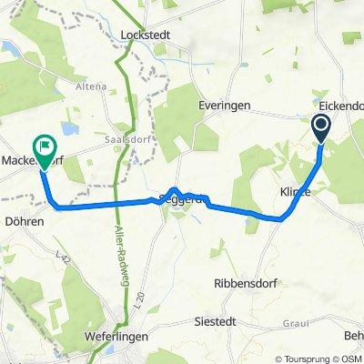 K1133, Oebisfelde-Weferlingen nach Siedlung 1, Bahrdorf