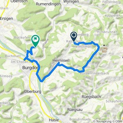 Kaltacker 321, Kaltacker nach Düttisberg 1D, Burgdorf