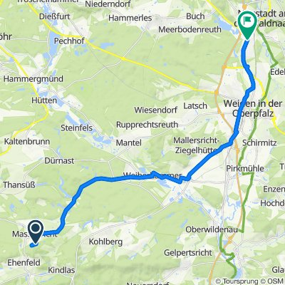 Rödlas 4, Hirschau nach Karl-Hofbauer-Straße 2, Altenstadt an der Waldnaab