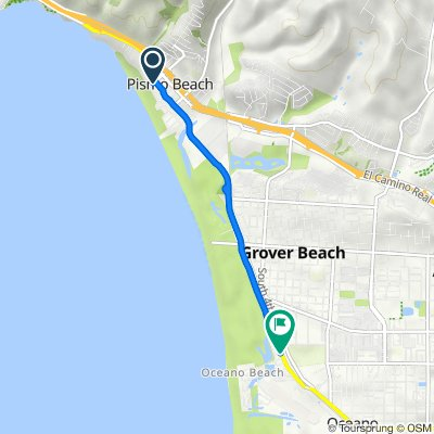 280 Wadsworth Ave, Pismo Beach to 649 Pier Ave, Oceano