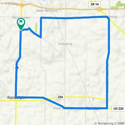 4179 Pletzer Blvd, Rootstown to 4179 Pletzer Blvd, Rootstown