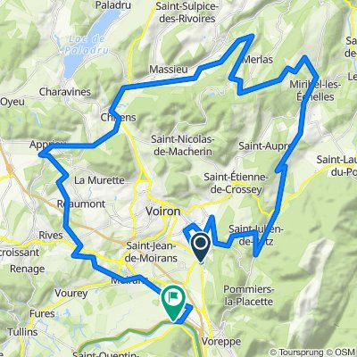 Col des 1000 St Geoire Chirens