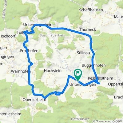 Unterbissingen 17–19, Bissingen nach Unterbissingen 17–19, Bissingen