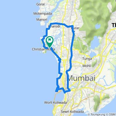 Madh Jetty, Mumbai to Versova, Mumbai