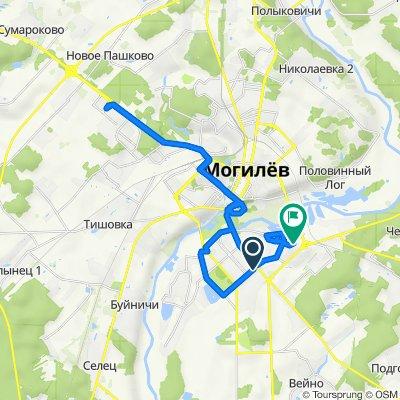 маршрут с Габровская улица, Могилев