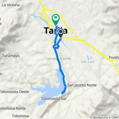 De Puente Bolivar, Tarija a Campero 1077, Tarija