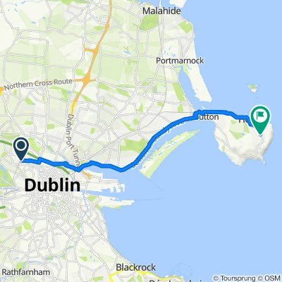 Quarry Road 104 to Baily, Mariners Cove, Stop 571, Dublin