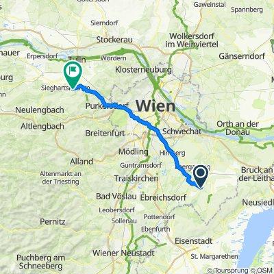 Siedlergasse (Wasenbruck) 4, Wasenbruck nach Am Graben 5, Elsbach
